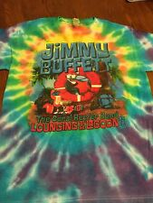 Jimmy Buffet Lounging At The Lagoon 2012 T-shirt Size L
