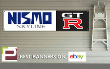 Nissan NISMO Skyline GT-R Workshop Garage Banner r32, r33, r34