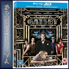 THE GREAT GATSBY -Leonardo DiCaprio  * NEW 3D BLURAY - REGION FREE*