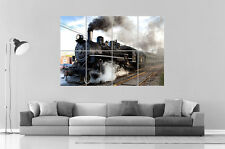 TRAIN A VAPEUR STREAM TRAIN Wall Art Poster Grand format A0 Large Print