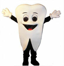 Tooth Adult Mascot Costume fancy dress For advertising
