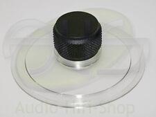 Plattenklemme Schallplattenklemme für Plattenspieler, schwarzer Knauf 35mm hoch