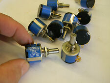 New* Clarostat 10 Turn Potentiometer 73JA 2K ohm Linear +/-5%  B4