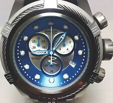 Invicta 21810 Mens Swiss Reserve Bolt Zeus Blue Silver Black Chronograph Watch