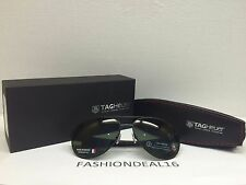New Authentic TAG HEUER LRS Aviator Black Outdoor TH0256 301 Sunglasses