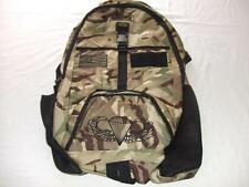 US ARMY AIRBORNE MEDIUM BACKPACK DAY PACK  BOOK COMPUTER  BAG CAMO  EMBROIDERED