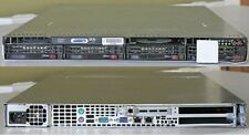 SUPERMICRO CUSTOM SERVER CHASSIS W/ MOTHERBOARD  2* 500GB HARD DRIVES