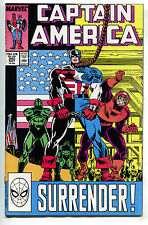 Captain America 345 Marvel 1988 NM USA Flag Falcon Nomad D-Man Diamondback