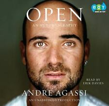 Open  Unabridged  2009 by Andre Agassi 1415965439 Ex-library