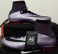 Flawless NIKE Mercurial SUPERFLY AG-R Acc Uk11 New Football Boots Size Eu46