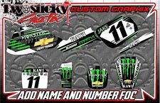 KAWASAKI  KX 60/85  MOTOCROSS MX GRAPHICS STICKERS   ALL YEARS