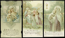 lotto santini-holy cards lot-lot images pieuses-konvolut heiligenbildichen 2502