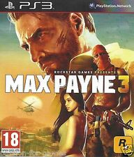MAX PAYNE 3 for Playstation 3 PS3 - with box & manual