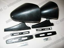 VINTAGE STYLE BLACK SPORT MIRRORS CLASSIC MUSCLECAR RESTOMOD HOTROD KIT