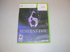 RESIDENT EVIL 6 (Microsoft Xbox 360) Complete