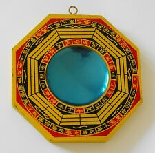 Feng Shui China concave Bagua Mirror Pa Kua Ba Guas ward off bad luck 凹  -84g