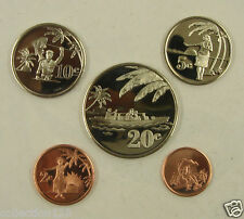 Tokelau Coins Set of 5 Coins 2012 UNC