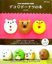 Brand New! Deco Doughnuts Book /Japanese Sweets Cooking Recipe Book