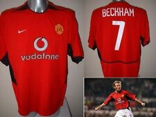 Manchester United David BECKHAM Jersey Shirt Adult L Soccer Football Nike Utd