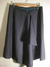 Marcs Sz 14 Pinstripe Skirt Designer
