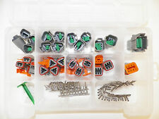 179 PC OEM GRAY DEUTSCH DT CONNECTOR KIT STAMPED TERMINALS REMOVAL TOOLS FROM US