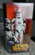 "Clone Trooper (RED) 2005 12"" STAR WARS ROTS Revenge of the Sith MIB 1/6 Scale"