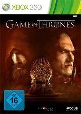 Microsoft XBOX 360 gioco-GAME of Thrones: la canzone di ghiaccio e fuoco (con imballo originale)