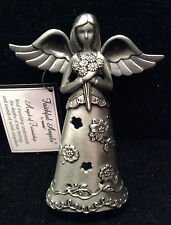 NEW Pewter Faithful Angel of Friendship Figurine by Ganz