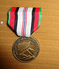 US ARMY,USAF,USN,USMC,AFGHANISTAN CAMPAIGN, NEW STYLE,(NO WORD MEDAL) LARGE