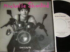 """7"""" - Michelle Shocked Come a long way & Over the Waterfall (Live) - MINT # 4832"""