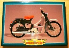 HONDA C100 SUPER CUB CLASSIC STEP THRU MOPED MOTORCYCLE BIKE 1950'S PICTURE 1958