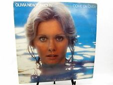 LP Record  OLIVIA NEWTON JOHN Come On Over MCA-2186 1976  - top glue loose