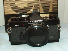OLYMPUS OM-2N BLACK CAMERA BODY BOXED