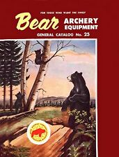 1954 Bear Archery Equipment Catalog #25 - Reproduction