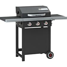Landmann Barbecue a carrello grill a gas Heron 3.0, Nero