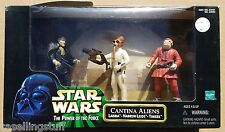 Star Wars CANTINA ALIENS 3 Pack Three Figure Boxed Set Boxed POTF 1998 New MIB