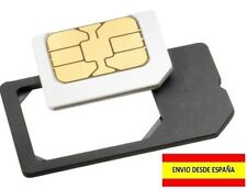 ADAPTADOR MICRO SIM ADAPTER IPHONE SAMSUNG GALAXY A LA MAYORIA DE MOVILES SONY
