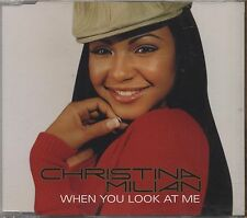 CHRISTINA MILIAN - When you look at me - CDs SINGLE 2001 COME NUOVO UNPLAYED
