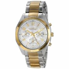 Caravelle New York Women's 45L136 Analog Display Japanese Quartz Two Tone Watch