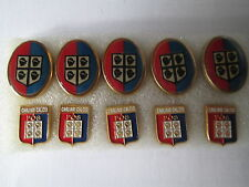 lotto 10 pins lot CAGLIARI CALCIO FC club spilla football soccer futbol spille