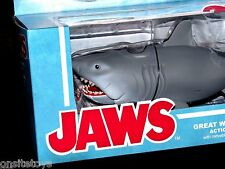 "JAWS GREAT WHITE SHARK ACTION FIGURE 10"" LONG ORIGINAL MOVIE FIGURE NEW w/TANK"