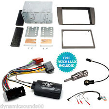Jaguar X-Type S-Type Double Din Car CD Stereo Fitting Kit Fascia Stalk Adaptor