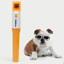 Pet Cat Dog Pedi Paws Nail Trimmer Electric Toe Claw Groomer Clipper