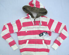 75% OFF! AUTH US POLO ASSN JUNIOR'S FAUX FUR TRIM HOODIE LARGE BNWT US$ 68.