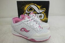 Adio Quality Footwear Kenny Anderson White/Pink Skateboarding Shoes 4/35.5 NEW
