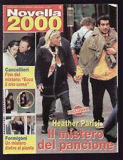 NOVELLA 2000 46/99 LUCIO BATTISTI HEATHER PARISI HAKKINEN GERI HALLIWELL MADONNA