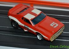 Aurora AFX AMC Javelin AMX with T Tops Finished in Red & White HO scale Slot car