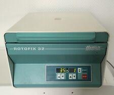 Hettich Rotofix 32  Zentrifuge Laborzentrifuge Tischzentrifuge mit Rotor