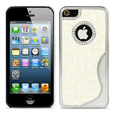 Aluminum Fashion S-Line Football Pattern Cover Case Skins For Apple iPhone 5 5S