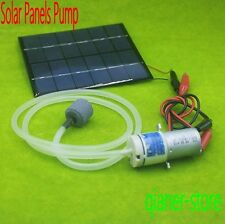 12V Mini Quiet Solar Board Aquarium Oxygen Pump Oxygen Supply Simple Pump